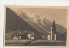 Argentiere & Montblanc Switzerland Vintage RP Postcard 364b