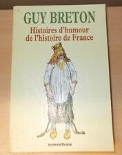 OMNIBUS GUY BRETON HISTOIRES D'HUMOUR DE L'HISTOIRE DE FRANCE 2002