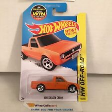 Volkswagen Caddy #124 * Orange * 2015 Hot Wheels * b6