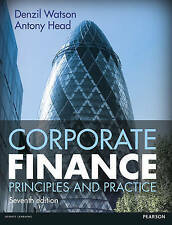 CORPORATE FINANCE, Watson, Denzil, Head, Antony, 9781292103037