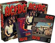 AC/DC - Albums Playing Cards Deck Brand New Sealed
