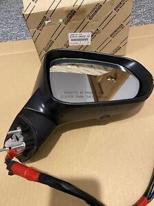 2018-20 Lexus Rx350L 450L Right Side View Mirror Camera Blind Dim Heat Black Oem