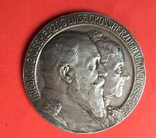 FRIEDRICH GROSSHERZOG 1856-1906 ,médaille argent
