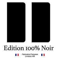 Stickers autocollant plaque d'immatriculation 100% NOIR, tout noir, NOIR, noir