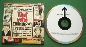 The Who Then & Now inc I'm A Boy / Won't Get Fooled Again + CD
