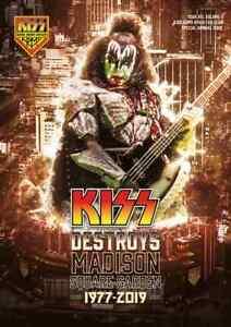 KISS DESTROYS MADISON SQUARE GARDEN 1977-2019 Book, (+poster, postcard)