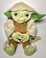 Star Wars Yoda Hooded Robe Large Stuffed Plush Toy 18 Inch