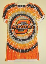 creative apparel concepts Oklahoma State OSU Tie Dye Women's Shirt S Small