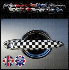 BMW MINI Cooper/S R50 R52 R53 R55 R56 R57 R58 R59  CHEQUERED Door Handle Covers