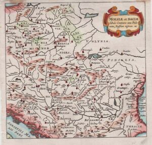 1661 Fine Cluver Map of Poland and Hungary