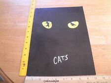 CATS 1995 theater program w/ ticket and insert Orange County CA