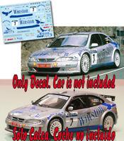 Decal 1:43 Ricardo Avero - CITROEN XSARA KIT CAR - Rally El Corte Ingles 2002