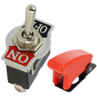 Off Toggle Lever Switch 25 AMP Rated 12v 24v Heavy Duty Momentary Flash On