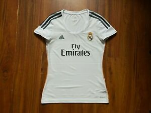 REAL MADRID FOOTBALL SHIRT 2013 WOMAN ORIGINAL JERSEY SIZE M