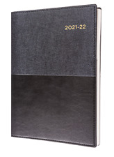 Collins Vanessa 2021 2022 Financial Year FY Diary A5 Week to View Black Fy385