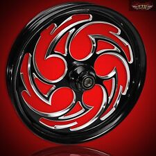 "Kawasaki Vulcan 1700 21"" Custom Motorcycle Wheel Kit ""Predator""  2009-2017"