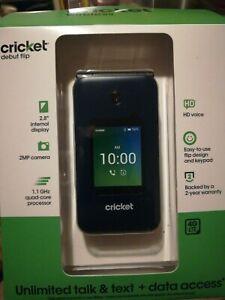 Cricket Debut FLIP 4GB - Navy Blue - Cricket Wireless
