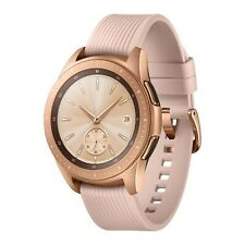 BNIB Samsung Galaxy Watch 4GB SM-R810 42mm Rose Gold Tizen OS Bluetooth watch