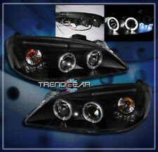 2005-2010 PONTIAC G6 2/4DR HALO LED PROJECTOR HEADLIGHT LAMP BLACK GT GTP GXP SE