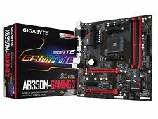 GIGABYTE GA-AB350M-Gaming 3 AM4 AMD B350 Micro ATX Motherboard