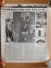 #46 DAINA GRAZIUNAS JIM STARLIN SIGNED NEWSPAPER PAGE AMONG MADMEN AUTOGRAPH