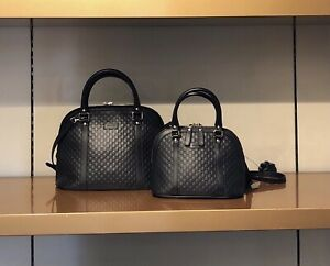 Gucci Dome Micro Med GG Top Handle Leather Choose One ☝️ Med Size New W/Tags