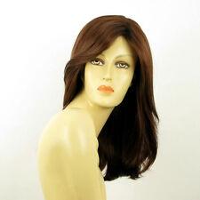 mid length wig for women dark brown copper ref ZELINDA 31  PERUK