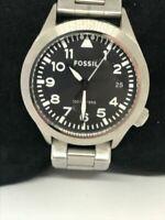 Fossil Am4562 Aeroflite Women's Silver Stainless Steel Analog Quartz Watch Bb765