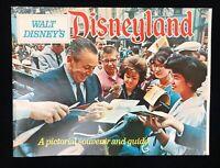 Near Mint Vintage Original 1963 Walt Disney's Disneyland Souvenir & Guide Book