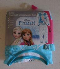 Disney Frozen thermal underwear set, Girls size 4