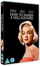 HOW TO MARRY A MILLIONAIRE - DVD - REGION 2 UK
