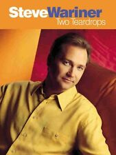 """""""STEVE WARINER-TWO TEARDROPS"""" PIANO/VOCAL/GUITAR CHORDS MUSIC BOOK-NEW ON SALE!!"""