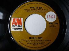 """MIGUEL RIOS - Song Of Joy 1970 7"""" vinyl single"""