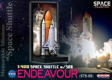 DRAGON SPACE COLLECTION 1/400 NASA Shuttle Endeavour STS-88 w/SRB  56375