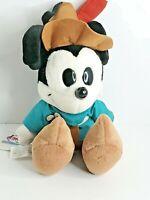Walt Disney Store Mickey Mouse Brave Little Tailor Plush Doll