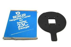 Beseler 8068 Negative Carrier For 23C Size 1-5/8 x 1-5/8, 127, 4x4 cm #M1151