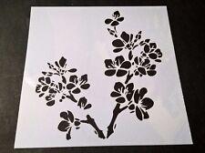 Cherry Blossom Home Decor Scrapbooking Album Craft Stencil Airbrush Painting UK