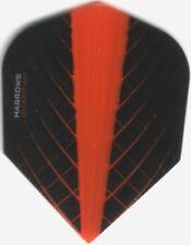 Orange Harrows QUANTUM Dart Flights: 3 per set