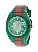 4043619a1a3 Gucci Quartz Stainless Steel and Rubber Casual Two-Tone Men s Watch YA137113