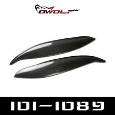 Carbon Fiber Headlight Eyebrow Eyelid for Honda Civic EK EK9 JDM SPORT 1999 2000