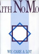 FAITH NO MORE we care a lot HOLLAND 1985 MORDAM REC + INLAY