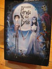 CORPSE BRIDE DVD collector's edition RARE hot topic tim burton