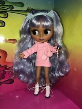 "Ooak Custom 12"" Blythe Doll ~ Kitty K Inspired Custom Doll"