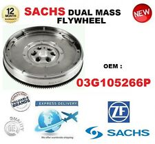 FOR 03G105266P SACHS DMF DUAL MASS FLYWHEEL & BOLTS ** OE QUALITY ** BRAND NEW