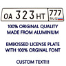 RUSSIA RUSSIAN Custom Personalized Car Number Plate Euro License Plate