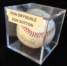 Don Drysdale Sutton Signed Autographed Major League Baseball JSA Authentication