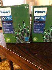Philips Green Indoor Outdoor Christmas Lights 24.7 Ft