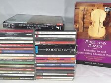Lot of 30 + Classical CDs Mozart Stern Brahms Philips EMI Angel Decca CBS RCA