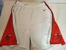 NBA Chicago Bulls Nike Dri Fit Basketball Shorts mens 2XL