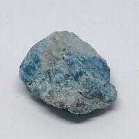 Blue Apatite Rough Crystal 33g 1.164oz BE-0108